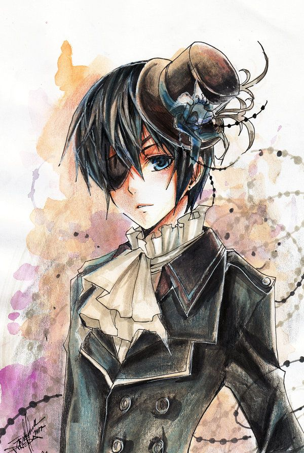 I wonder why all girls flip over Sebastian. He's quite generic anime character while Ciel rocks bottom. He's manipulative, posessive, has incredible willpower and selfcontrol. #kuroshinjushi
