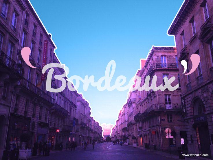 Aujourd'hui c'est la journée mondiale de la photographie ! On en profite pour rendre hommage à notre belle ville. 💜 #bordeaux #bordeauxmaville #photography #journeemondiale