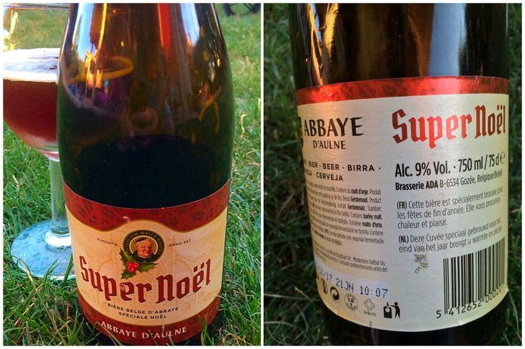 Super Noël de Abbaye D'Aulne.  Style: Belgian Strong Dark Ale.  ABV: 9%  Muy buena. (Mejor Cuvée Royale)