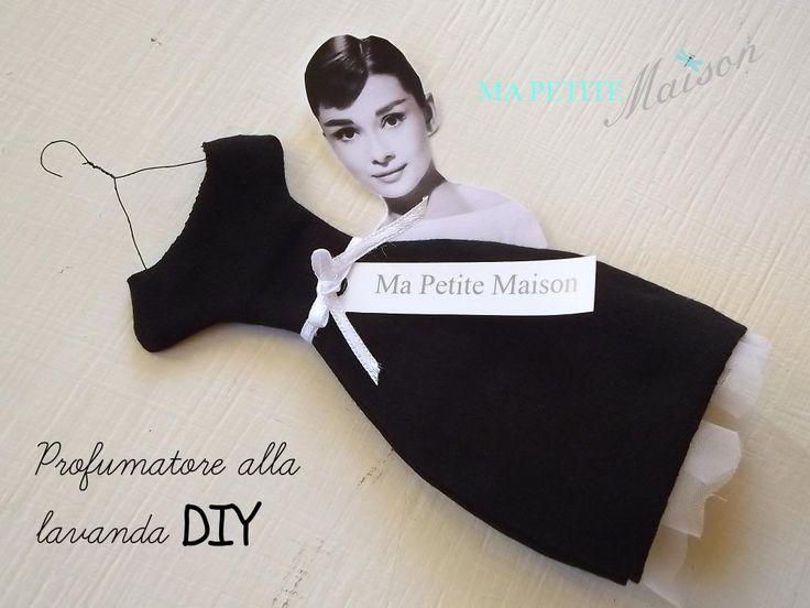 Ma Petite Maison: Double Color - Bianco e Nero - Profumatore modello Audrey  Love love love this, great tutorial, too!