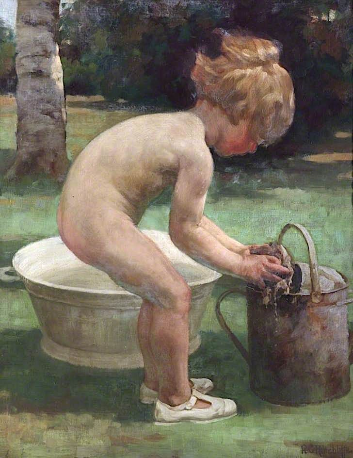 A Water Nymph | Richard George Hinchcliffe | oil painting