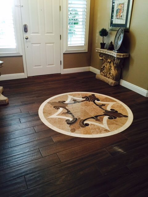 Daltile Saddle Brook Sd15 Walnut Creek 6x36 With Water Jet