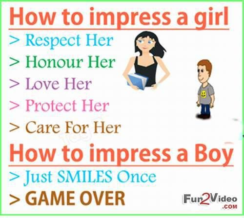 How To Impress A Girl [ More Funny Quotes: http://www ...