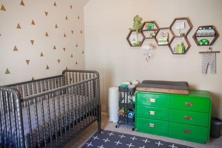 Holden's Warm, Geometric Nursery