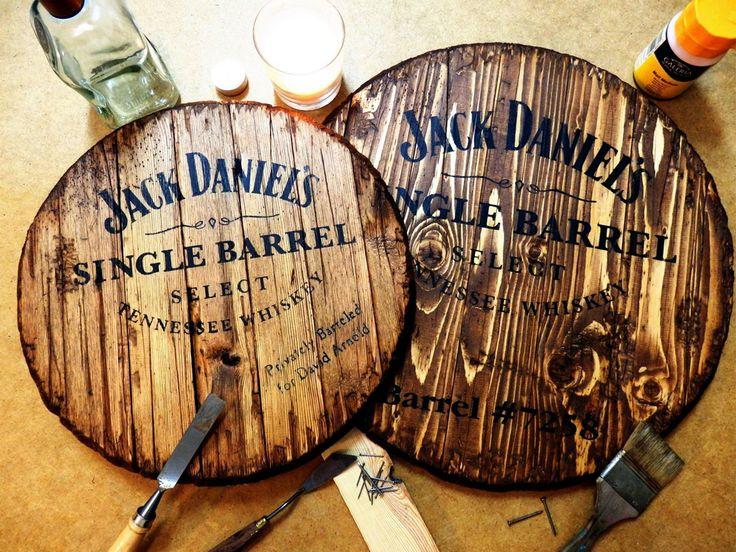 Wood Barrel Wall Decor : Ideas about jack daniels decor on liquor