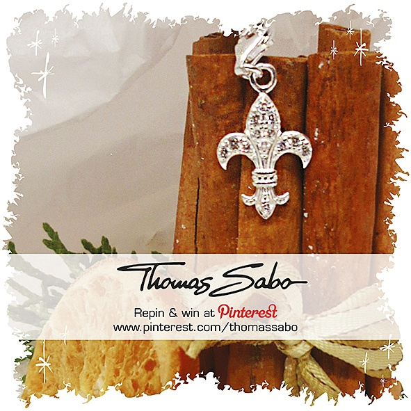 One lucky winner will be drawn on December 12, 2012! Important: Your facebook or twitter account must be linked to your Pinterest profile! Terms and conditions: http://images.thomassabo.com/www/2/2012/11/TC-Pinterest-Xmas-Sweepstake.pdf