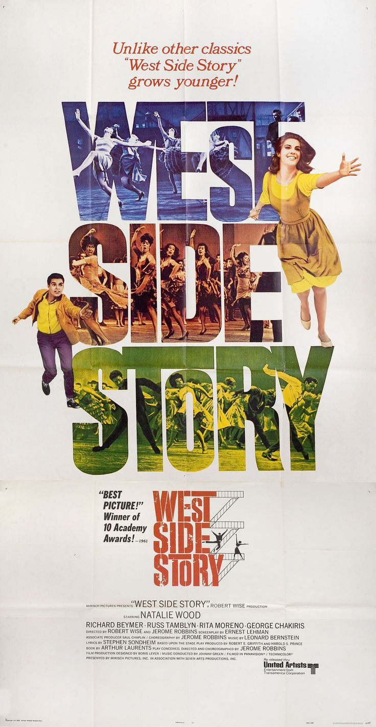 worksheet West Side Story Worksheet de 25 ideas sobre west side story en pinterest r1968 u s three sheet poster