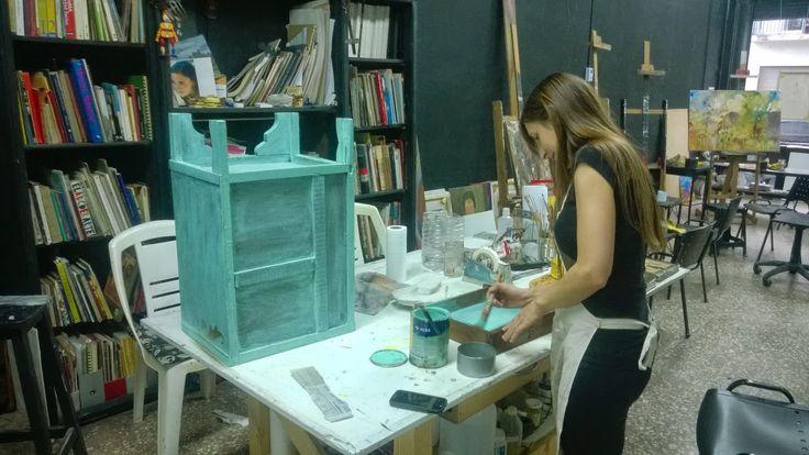 RestaurayConservaObras de Arte: Mesa de Luz