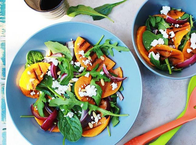 Grilled Pumpkin Salad