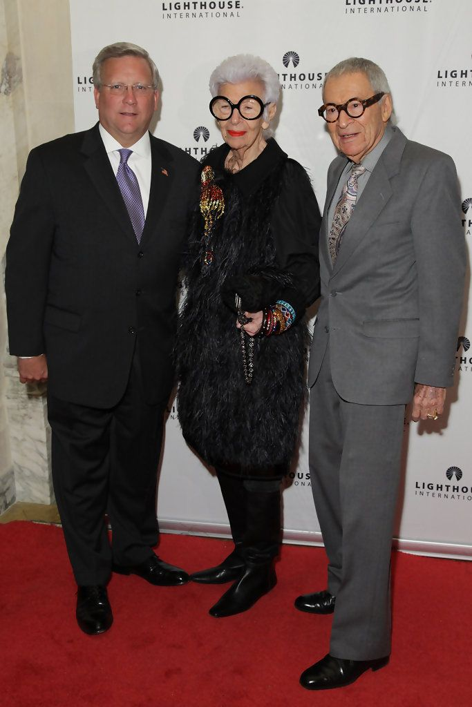 Iris Apfel Photos: Kick-Off Dinner For Lighthouse International's POSH Fashion Sale
