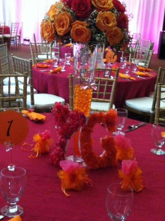 17 best images about wedding ideas for rachel 39 s awesome hot 115 best images about hot pink and orange centerpieces on hot pink and orange decorations junglespirit Gallery