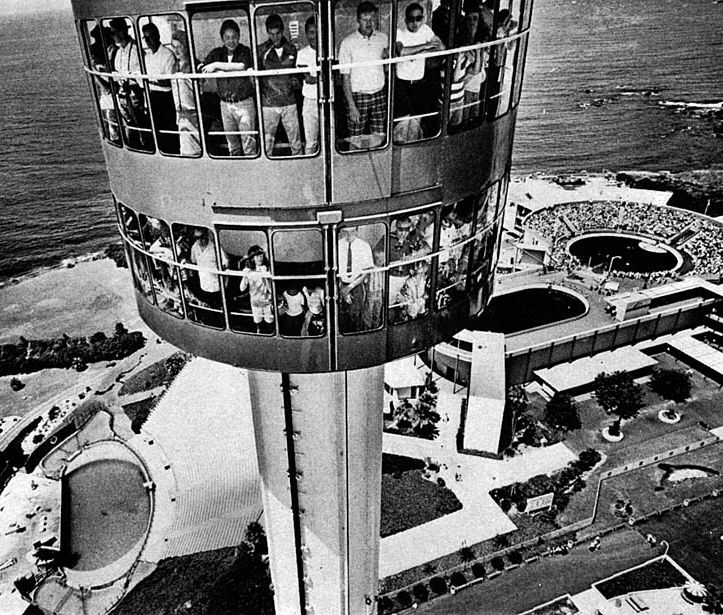 Sky Tower at Marineland of the Pacific, July, 12, 1966. Redondo Beach CA