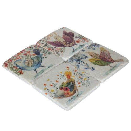 Resin Coaster Set of 4 - Tweety RRP $23
