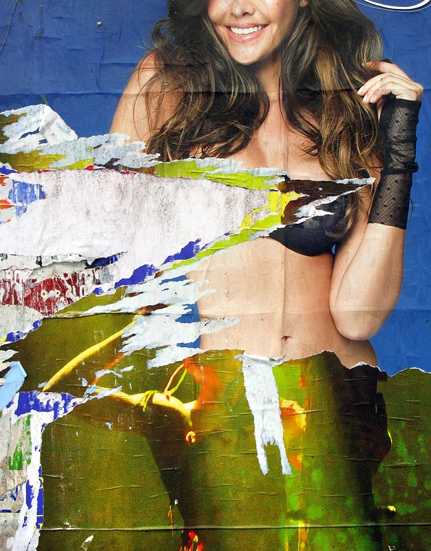 poster31 #poster #placard #paper #ripped #snatch #art #photo #tommymorosetti