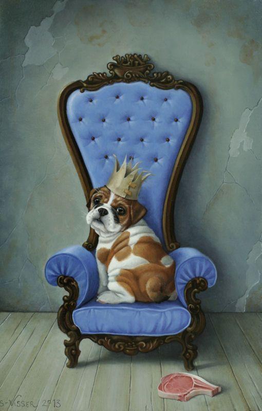 нее собака в кресле картинка бикович пережил