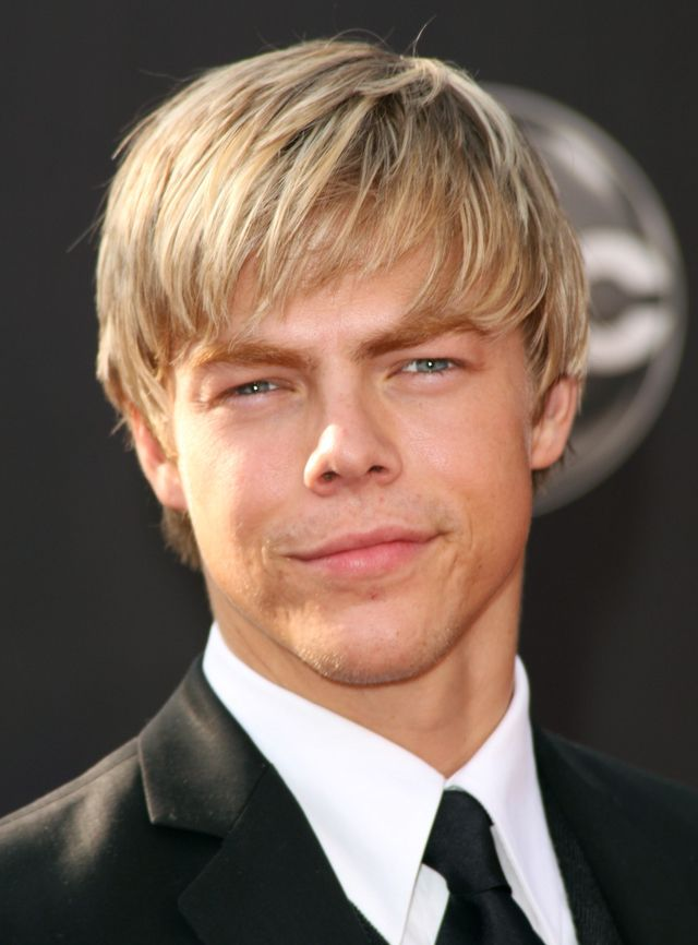 Picture Gallery of Medium Length Men's Hairstyles: Blond hair with some length has a casual beachy appearance