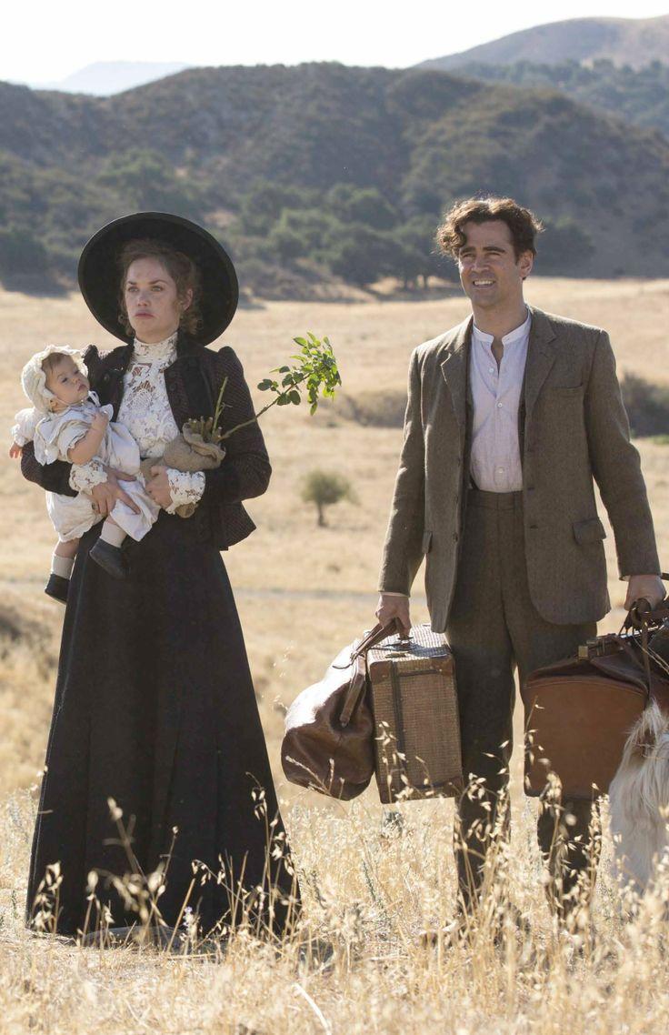 Ruth Wilson and Colin Farrell in  'Saving Mr. Banks' (2013). Costume Designer: Daniel Orlandi.