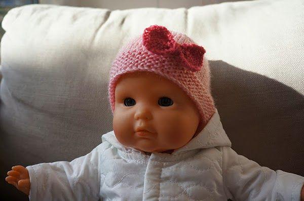 Suzon Grisou: Tutoriel - bonnet pour poupon Corolle
