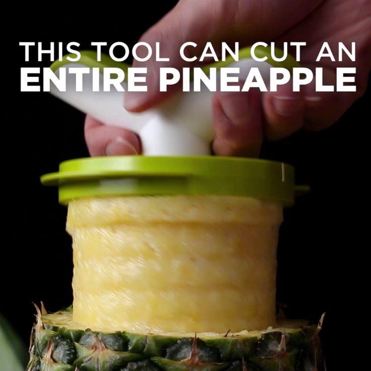 Easy Pineapple Corer & Slicer