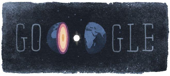 Los doodles de 'mujeres con ciencia' Los doodles de 'mujeres con ciencia'El doodle del 13 de mayo de 2015 celebra el 127 aniversario del nacimiento de la sismóloga Inge Lehmann (1888-1993)