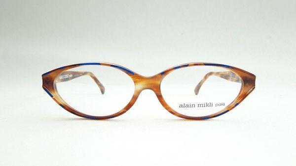 Alain Mikli 2158 Havana/Blue Frame, €99.00 #alainmikli, #vintage, #eyewear, #occhiali