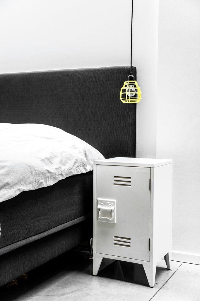 HK Living Lampa Wisząca Lab Żółta VAA1085P : Oświetlenie industrialne_sypialnia : Sklep internetowy Elektromag Lighting #bedroom #lamp #oświetlenie #sypialnia