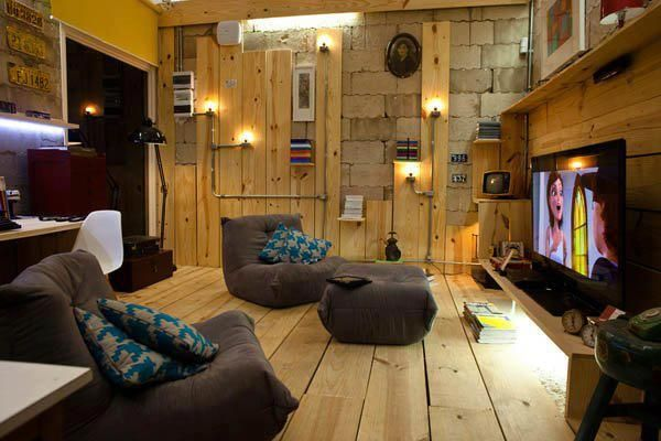 Multimedia Libraries, Kids Spaces, Spare Room, Home Interiors Design, Living Room, Media Room, Families Room, Basements, Man Caves