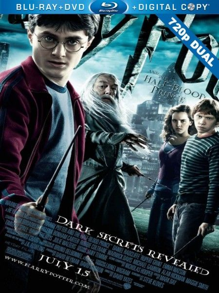 Harry Potter ve Melez Prens - Harry Potter And The Half Blood Prince - 2009 - 720p - Dual - Turkce Dublaj Bluray 720p Cover Movie Poster Film Afisleri - http://720pindir.com/Harry-Potter-ve-Melez-Prens-Harry-Potter-And-the-Half-Blood-Prince-2009-720p-Dual-Turkce-Dublaj-indir-6843