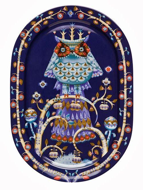 Iittala: Taika (=magic). Whole service whith owls