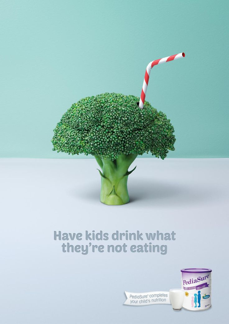 Title: Broccoli | Agency: Ward6 | Product: Pediasure | Client: Abbott | Art Director: Richard Price | Director: Richard Price | Copywriter: Steve Samuel | Creative Director: Grant Foster/Hugh Fitzhardinge | Account Supervisor: Daniela Rocca