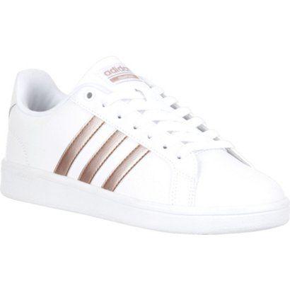4afb6ff16 adidas Women s cloudfoam Advantage Stripe Shoes