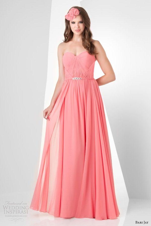 bari jay 2014 bridesmaids dress style 861 color tulip