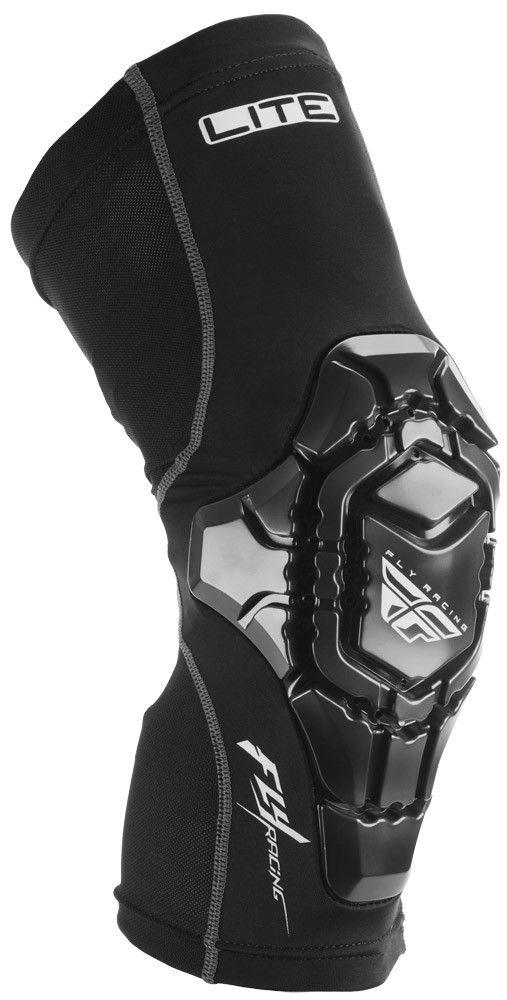 Lite Knee Black Guard | FLY Racing | Motocross, MTB, BMX, Snowmobile Racewear; Street Apparel and Hard Parts
