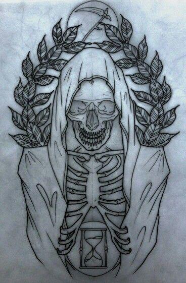 Dibujo skull