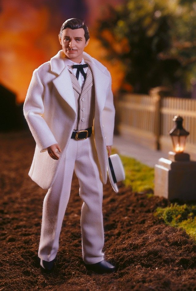 rhett butler doll!!! clark gableCelebrities Dolls, Barbie Collector, Collection Barbie, Barbie Hollywood, Rhett Butler, Clark Gables, Barbie Collection, Barbie Dolls, Dolls Barbie