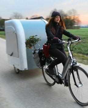 camping light fahrrad caravan f r naturliebhaber in 2019. Black Bedroom Furniture Sets. Home Design Ideas