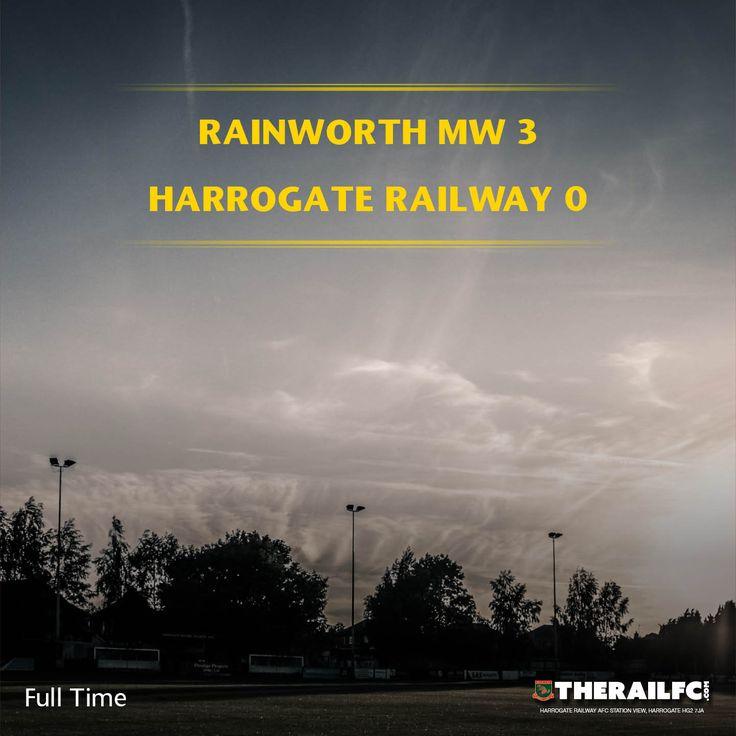 FT: Rainworth MW 3-0 Harrogate Railway    @therailfc @Rainworthmwfc @Howell_rm @Edwhite2507