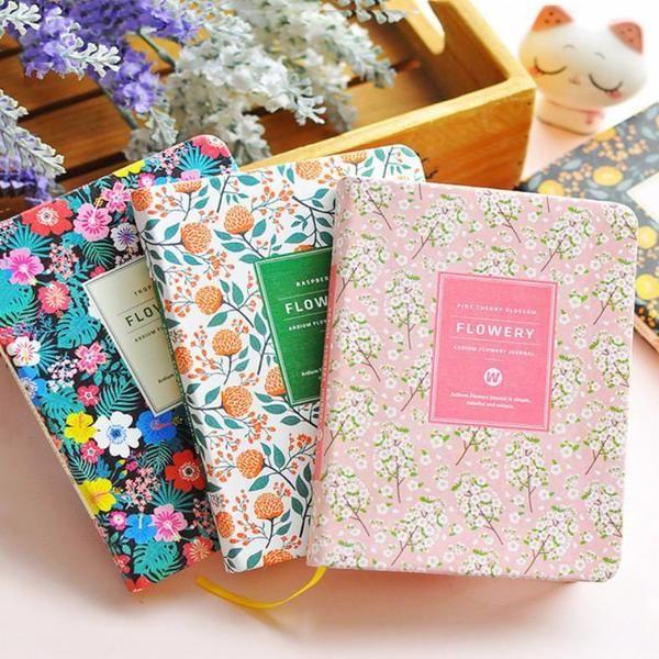 Ardium Flowery Journal – Kawaii Pen Shop