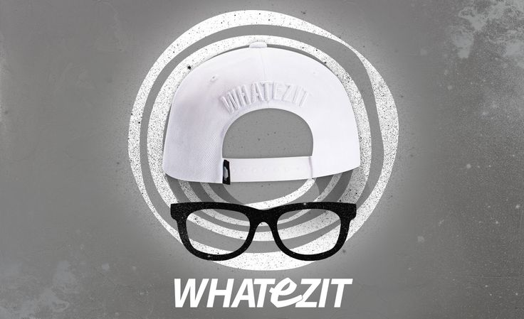 """"""" [Whatezit] TONE ON TONE LOGO WHITE 6PANNEL_WSM001"""
