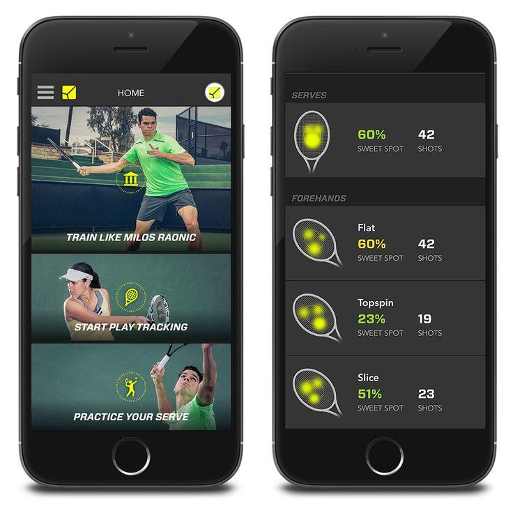 ZEPP Tennis - 3D Bewegungsanalyse Smarte Technologie für ein perfektes Tennisspiel Der ZEPPTennis 3D Sensor verfügt über Bluetooth und sendet die aufgezeichneten Bewegung-Daten unmittelbar an Ihr Smartphone oder Tablet.