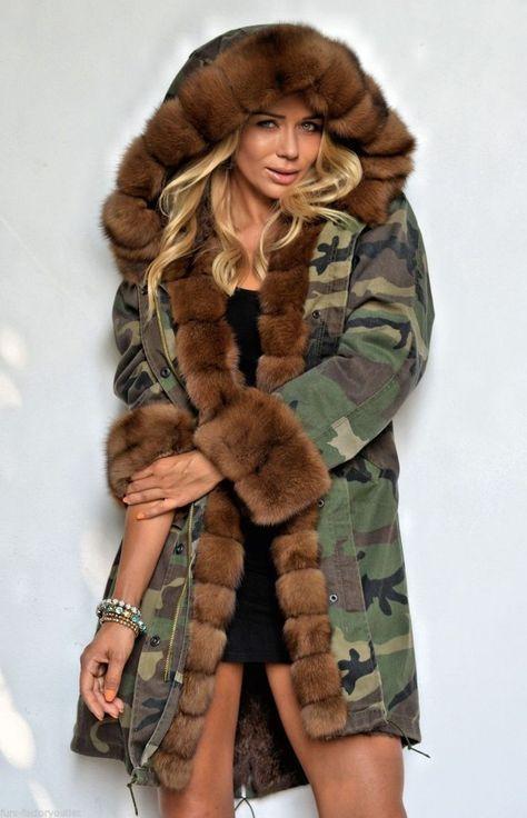 cool Парка женская зимняя с натуральным мехом (50 фото) — Разнообразие  моделей модных курток 4e1d9e5405d2a