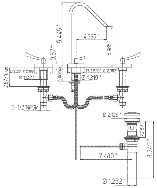 Bathroom Faucet Drain Parts Kitchen Sink Plumbing Parts Diagram Bathroom  Sink Height From. Bathroom Sink