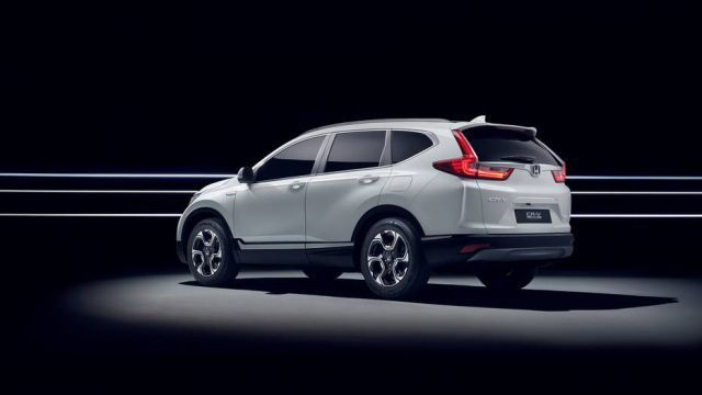 2019Honda CR-V side - Best SUVs