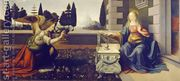 Annunciation (Annunciazione)  by Leonardo Da Vinci
