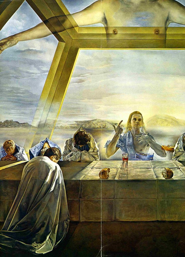 Salvidor Dali's The Last Supper-one if the most amazing paintings I've ever seen!