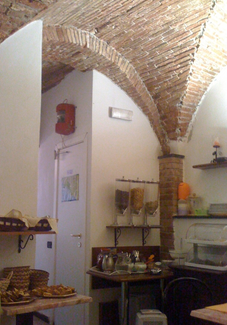 Old wine cellar, now a kitchen, in the Cinque Terre