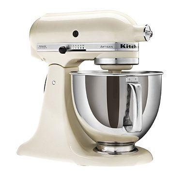 Cream KitchenAid® Artisan® Stand Mixer - From Lakeland