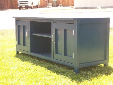 basic idea for tv console but different doors