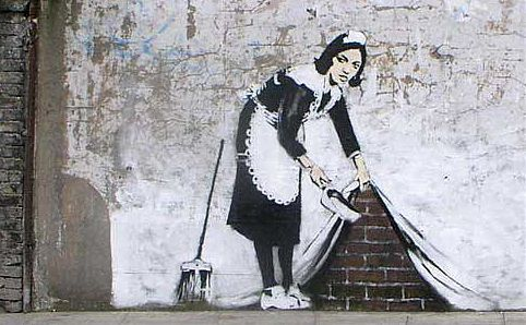 Outpost Project presents Street Art Festival in Sydney in November & December 2011, featuring 23 works by Banksy.