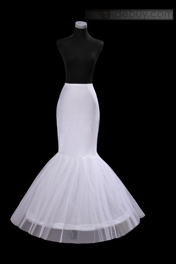 US$28.99 Amazing Fish Tailing Style Gauze Wedding Petticoat. #Wedding #Style #Gauze #Tailing